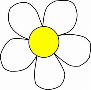 White Yellow Daisy Clip Art at Clker.com - vector clip art ...