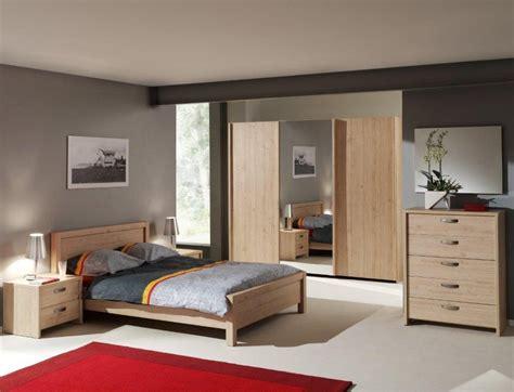 chambre a coucher contemporaine adulte chambre contemporaine complète chêne italien myro