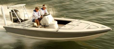 Flats Boats Brands by Every Dusky Is Constructed With More Laid Fiberglass