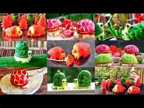 fruit vegetable turtles decoration fruit