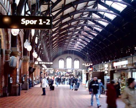 copenhagen railway station hovedbanestation kobenhavn