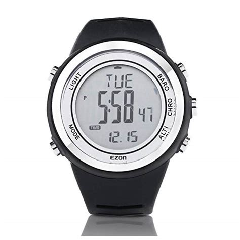 uhr mit höhenmesser outdoor uhr ezon h009a15 digitaluhr mit hoehenmesser herrenuhren armbanduhren f 252 r m 228 nner