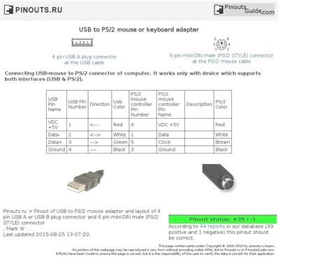 Usb To Ps2 Wiring Diagram by Usb Keyboard To Ps2 Adapter Wiring Diagram Usb Wiring
