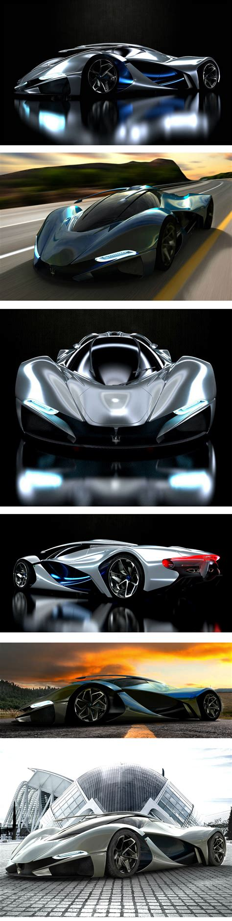 Maserati LaMaserati Concept Car | Concept cars, Super cars ...