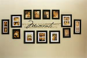 Family picture wall photo collages our