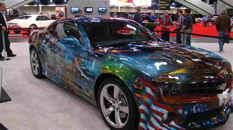 custom paint week 3 craziest muscle car paint gold eagle co