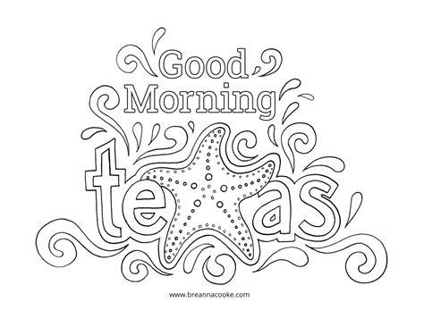 Dibujos De Good Morning (buen Día En Inglés) Para Pintar