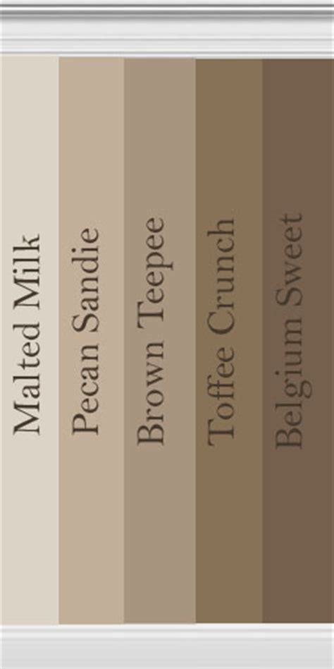 Mod The Sims  Collection Of Brown Walls Inspired By Behr