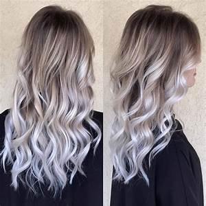 Ombre Hair Blond Polaire : ombre hair blond nacr fortuna coiffure facebook ~ Nature-et-papiers.com Idées de Décoration