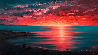 4k Sunset Wallpapers Paint