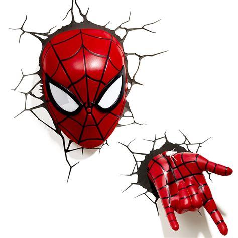 creative avengers alliance spiderman shape 3d night lights