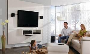 Fernseher An Der Wand : tv wand ~ Sanjose-hotels-ca.com Haus und Dekorationen