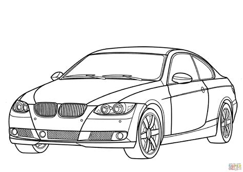 Kleurplaat Bmw E60 by Tag For Coloring Page Of Bmw M3 2008 Sparkling Graphite