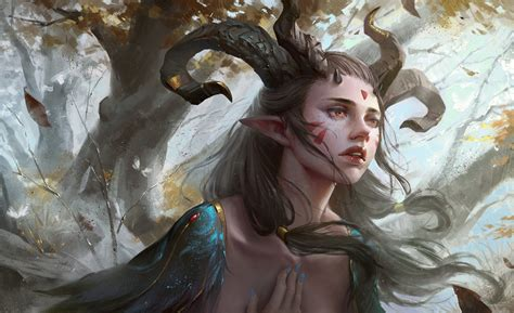 elves, Fantasy art, Magic Wallpapers HD / Desktop and ...