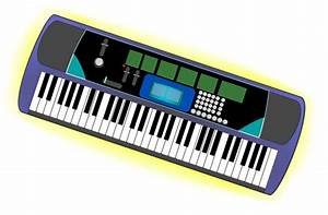 Music Keyboard Clipart - Clipart Suggest