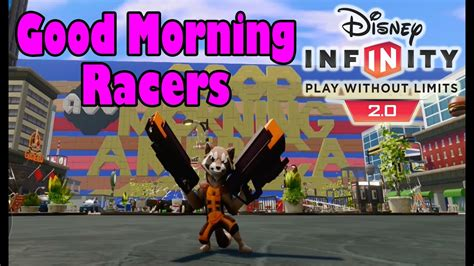 Disney Infinity 20 Toy Box Good Morning Racers (good