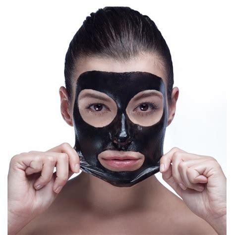 Black peel off masque