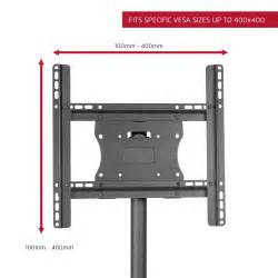 seneca av stationary floor mount for 26 quot 50 quot flat panel screens wayfair