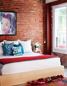 69 cool interiors with exposed brick walls digsdigs for How to decorate a brick wall