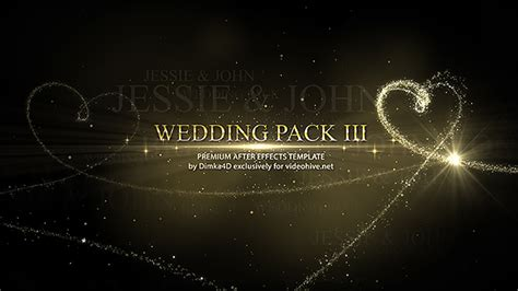 wedding after effects project videohive