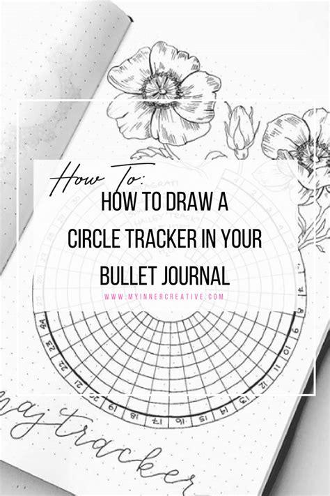 draw  bullet journal circle habit tracker