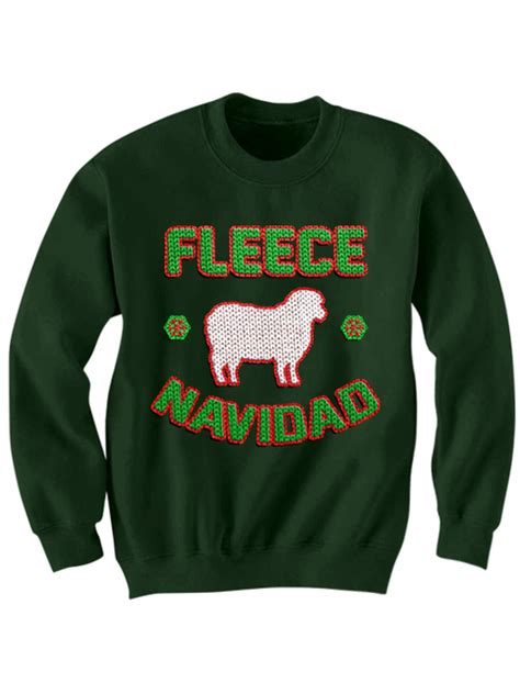 funniest sweaters fleece navidad sweater merry