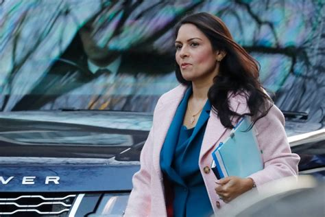 Priti Patel and Home Office secretary Sir Philip Rutnam ...
