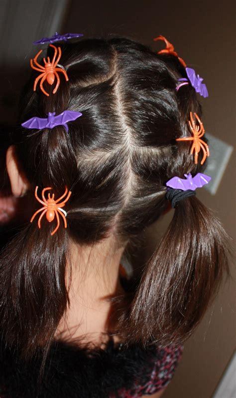 diy halloween hair halloween hairstyle  kids