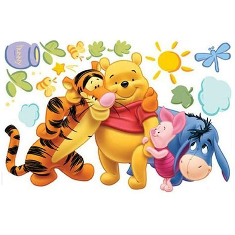 winnie  pooh removable wall stickers ebay