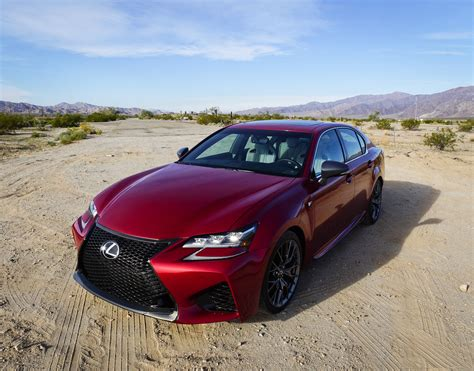 First Drive Review 2018 Lexus Gs F 95 Octane