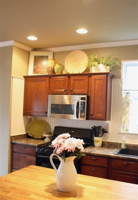 decorating  kitchen cabinets freshomes