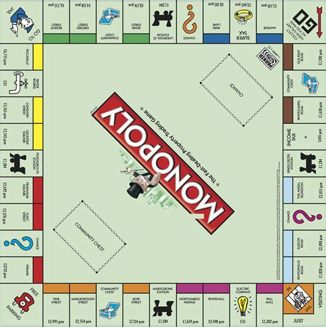 monopoly board here s what the monopoly board would look like for s renters today roost