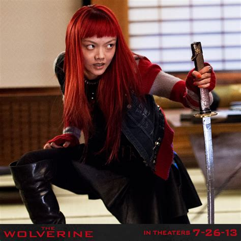 asian actress in deadpool 2 the wolverine reveals a new photo of rila fukushima s