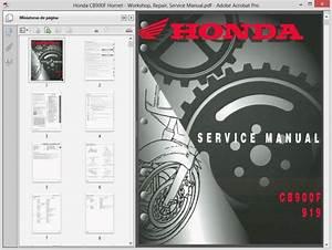 Honda Cb900f Hornet - Service Manual