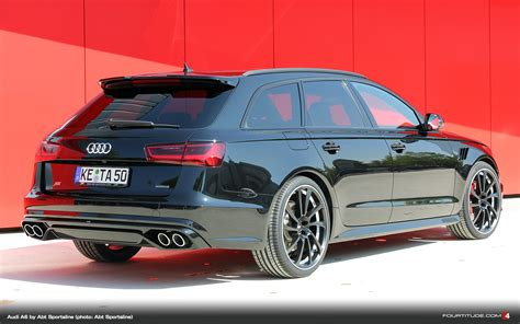 Audi A6 Avant Abt Tuning by Abt Sportsline With New Audi A6 Tuning Program