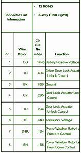 Driver Door Lock Actuator  U2013 Circuit Wiring Diagrams