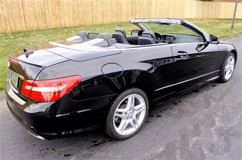 All 2013 e550s are 4matics. Used 2013 Mercedes-Benz E-class E550 Cabriolet For Sale ($26,800)   Metro West Motorcars LLC ...