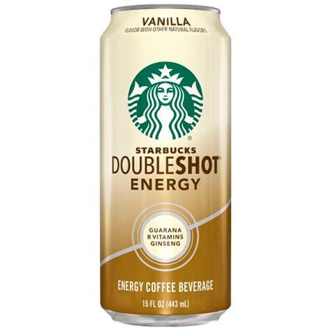 starbucks caffe vanilla light frappuccino blended coffee tall starbucks doubleshot energy vanilla fortified en target