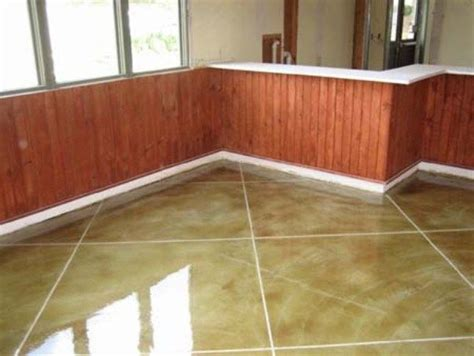 kitchen floors wood best 25 stained cement floors ideas on 1732
