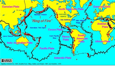 Describe The Process Of Seafloor Spreading by Pacific Ring Of Fire Crystalinks