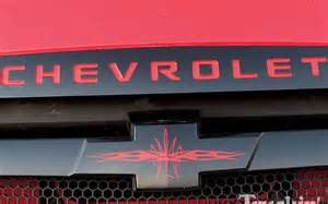 Custom Chevy Logos with Flames