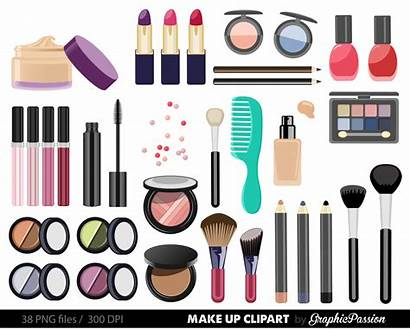 Clipart Beauty Clip Makeup Cosmetic Cosmetics Girly