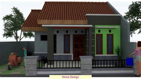 desain rumah sederhana  lantai youtube