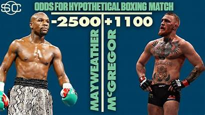 Mcgregor Mayweather Conor Odds Vs Floyd Boxing