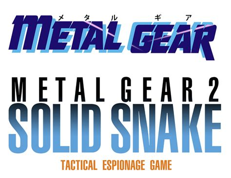 Solid Snake Hd Logos By Hildawn