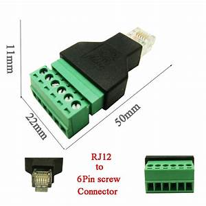 Aliexpress Com   Buy 5pcs Free Shipping Rj12 To Screw
