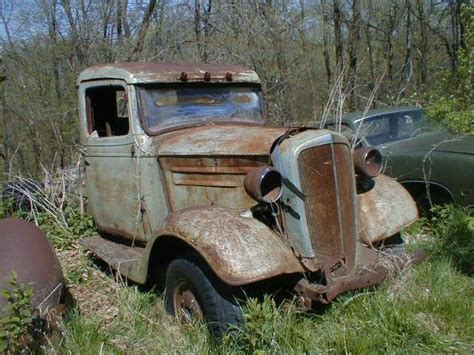 Old Cars in Barns and Fields