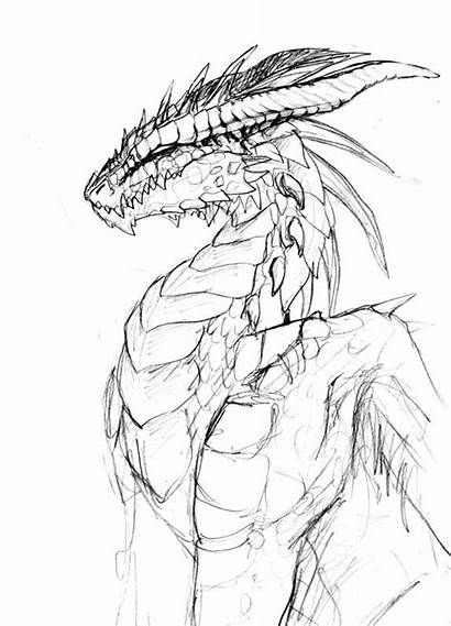 Dragon Scales Pencil Dragons Drawing Scale Deviantart
