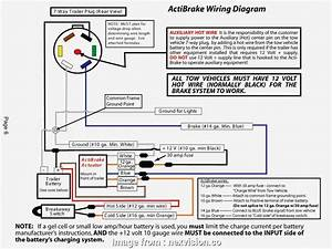Trailer Brake Battery  Wiring Diagram Professional