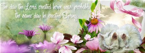 Spring Facebook Covers, Spring Facebook Profile Covers